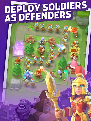 Royal defense Idle apkdebit screenshots 8