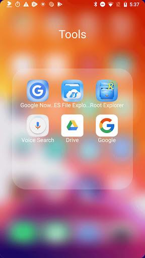 ilauncher x - new ios theme for iphone launcher screenshot 3