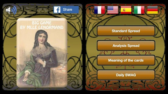 Lenormand Tarot- screenshot thumbnail
