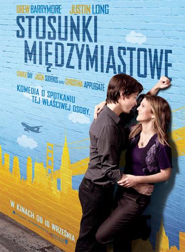 Polski plakat filmu 'Stosunki Międzymiastowe'