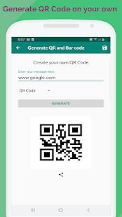 Download QR code Scanner/Reader and QR Generator For PC Windows and Mac apk screenshot 4