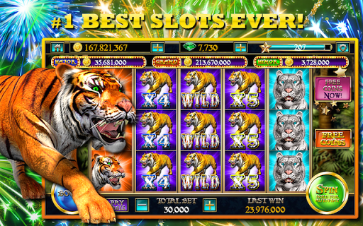 スロット™ -虎の嵐カジノのスロット