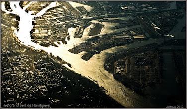 Photo: Le grand port de Hambourg.