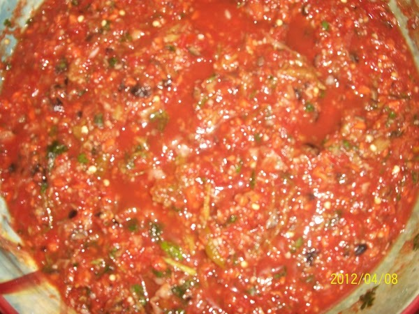 Aaa Yummy Salsa!! Recipe