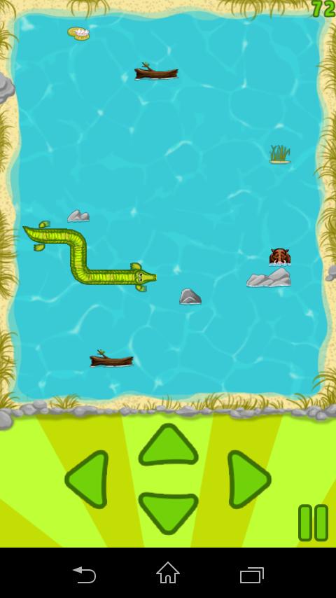 Скриншот Hungry Croc