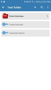 Pleasant Password Server App - náhled