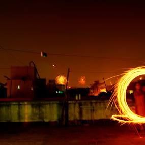 by S Nair - Abstract Fire & Fireworks