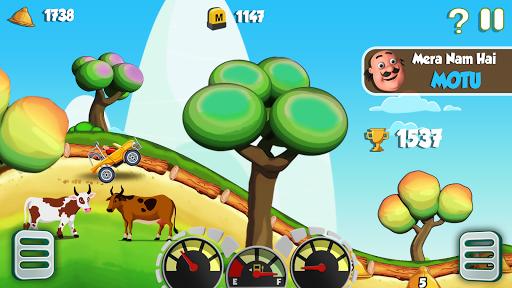 Motu Patlu King of Hill Racing  gameplay | by HackJr.Pw 1