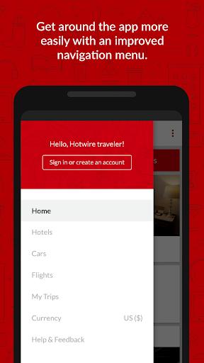 Hotwire Hotel & Car Rental App screenshot
