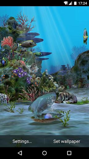 3D Aquarium Live Wallpaper HD 1.3.6 screenshots 5