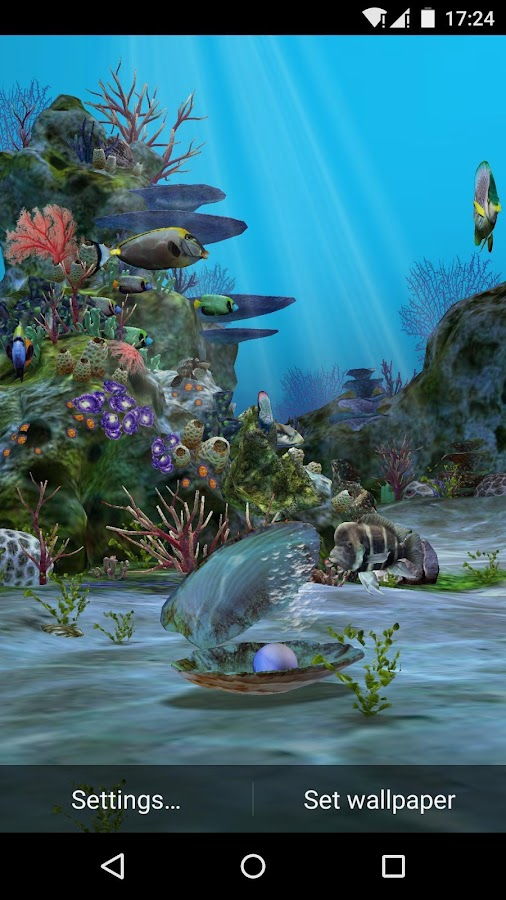 3d Parallax Weather Live Wallpaper 3d Aquarium Live Wallpaper Hd Android Apps On Google Play