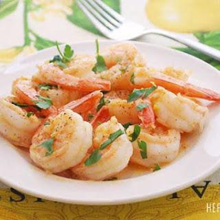 Garlic Shrimp.
