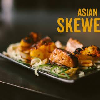 Asian Pork Skewers.