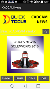 CADCAM News- screenshot thumbnail