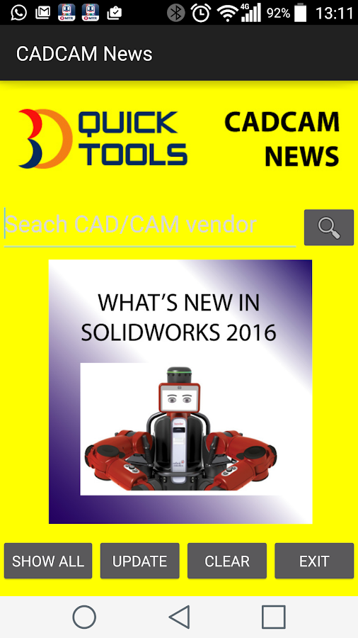 CADCAM News- screenshot