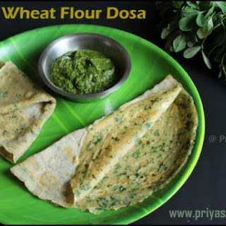 Methi Wheat Flour Dosa