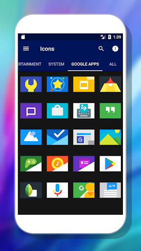 Olix - Icon Pack app (apk) free download for Android/PC/Windows screenshot