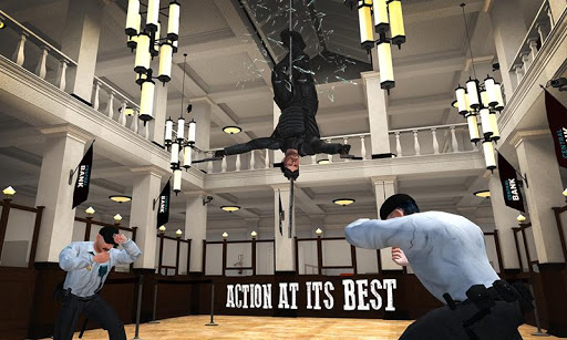 Secret Agent Spy Game Bank Robbery Stealth Mission  screenshots 1