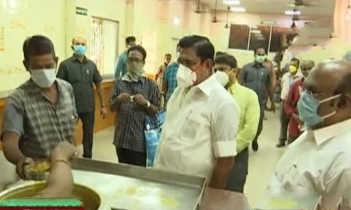 அம்மா உணவகங்களில் முதலமைச்சர் ஆய்வு, செய்தியாளர் சந்திப்பு - பப்ளிக் ஜஸ்டிஸ்