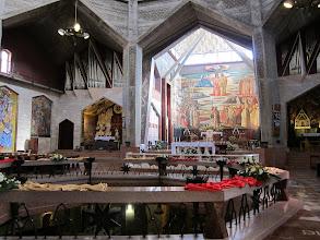 Photo: Modern church upstairs