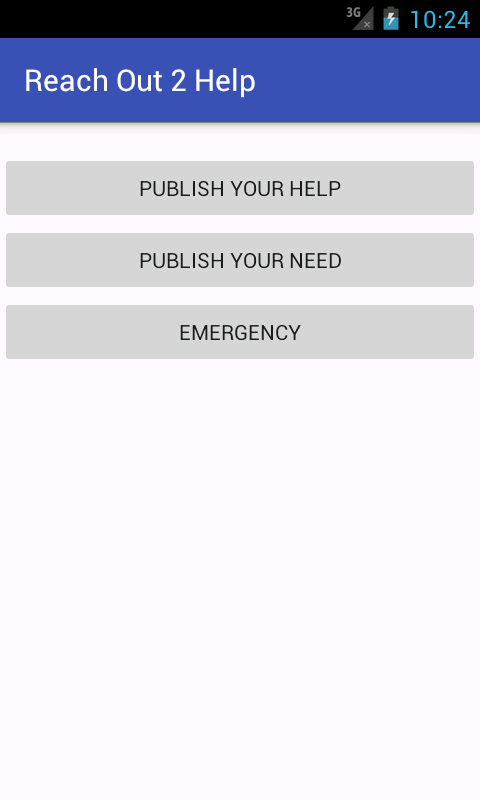 Reach Out 2 Help- screenshot