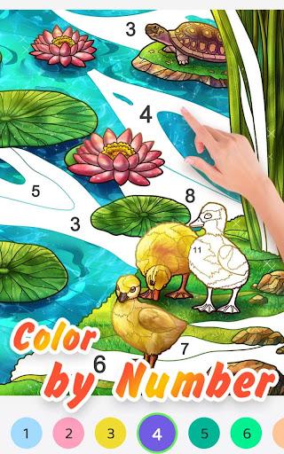Jigsaw Coloring screenshot 4
