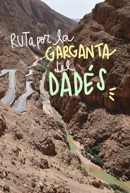 Garganta del Dadés
