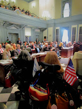 Photo: There was a full house in the House for the reading of the ADA 25 proclamation during Disability Day at Legislative Hall on 3.25.15.