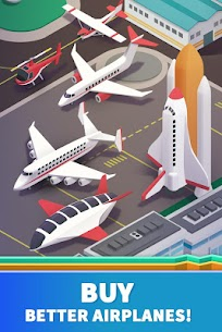 Idle Airport Tycoon – Tourism Empire Mod Apk Download For Android and Iphone 3