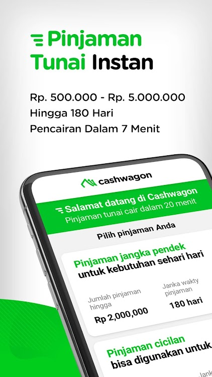 Cashwagon Pinjaman Online Cepat Cair Android تطبيقات Appagg
