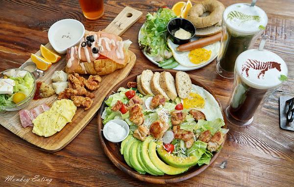 斑馬公寓咖啡|斑馬散步咖啡二店,清新質感玻璃屋早午餐,生酮飲食、低碳早午餐