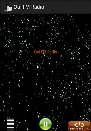 Player for Oui FM Radio