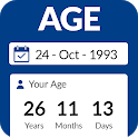 Age Calculator by Date of Birth⌛️: Age App 🙆 icon