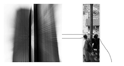 "Photo: ""Lines of Sight""  A collaboration with +Kristijan Jerkovic  Based on an idea by http://richardleach.deviantart.com/  #abstract   #surreal   #photography   #collaboration   #diptych   #blackandwhitephotography"