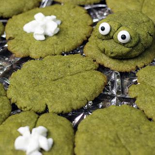 Lily Pad Matcha Green Tea Cookies