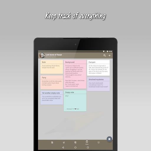 The 20 - RPG Companion App apktram screenshots 13