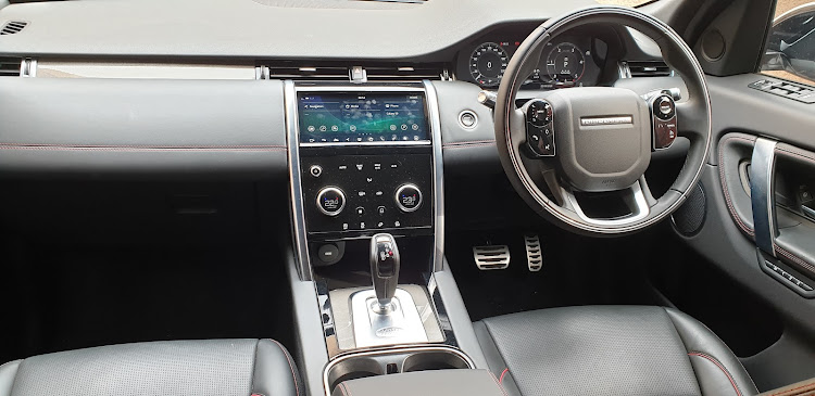 The infotainment is fairly intuitive to operate, and there's an abundance of USB and 12V points. Picture: DENIS DROPPA
