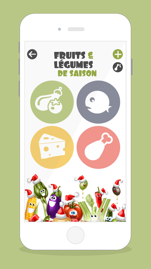 fruits et l gumes de saison android apps on google play. Black Bedroom Furniture Sets. Home Design Ideas