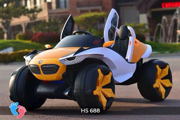 Xe ô tô điện địa hình cho bé hs-688 4