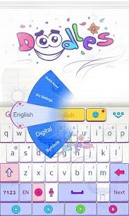 Doodles-GO-Keyboard-Theme 2