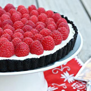 Raspberry White Chocolate Mascarpone Tart