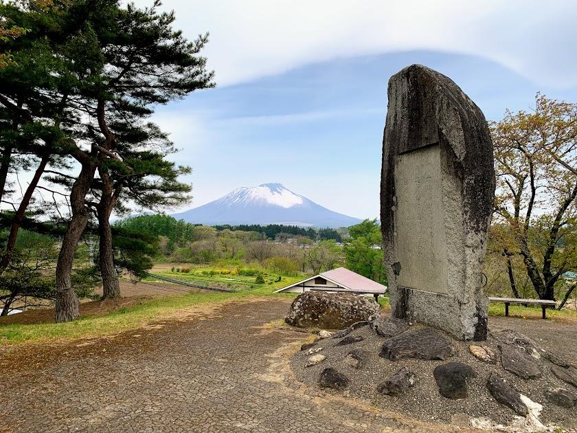 1922年4月建立の第1号啄木歌碑