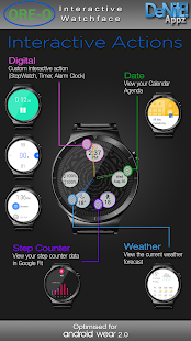Ore-O Themed HD Watch Face & Clock Widget Screenshot
