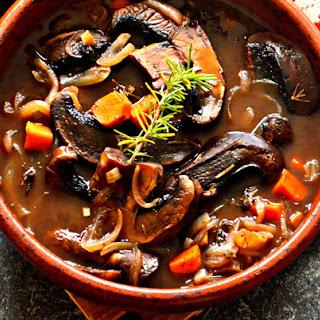 Vegan Portabello Pot Roast.