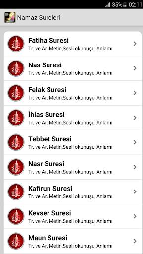 Sesli Namaz Sureleri ve Dualar 1.42 screenshots 2