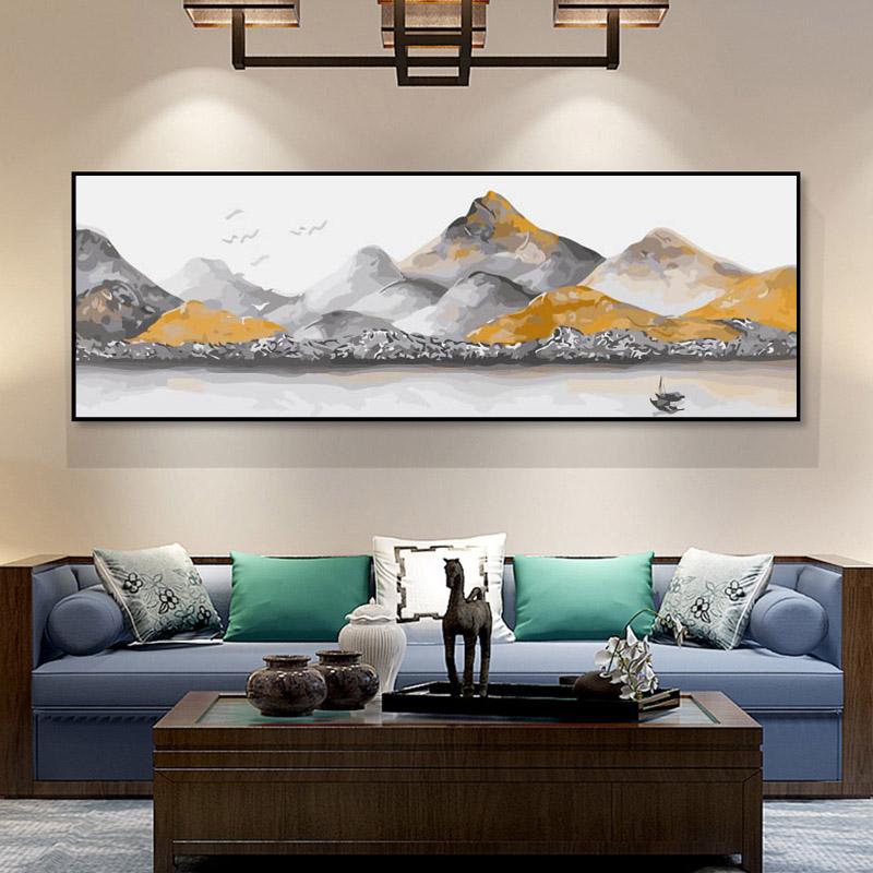 Large size Paint by Numbers - Landscape
