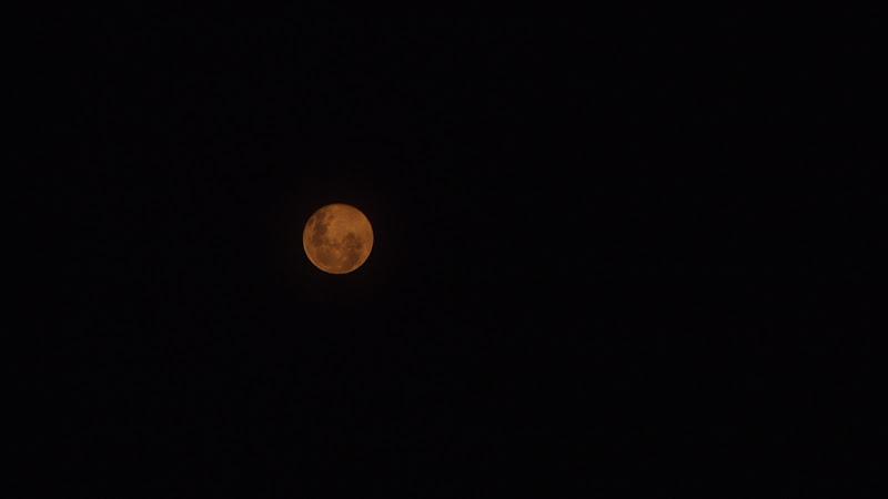 Notte nera con luna piena di dst56