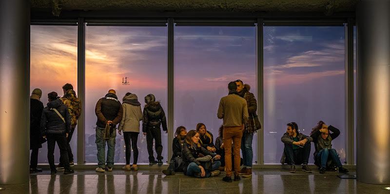 Trasparenze al tramonto di Sergio Locatelli