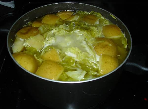Sweetheart Cabbage And Apples!