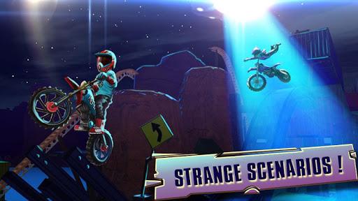 Code Triche course vélo d'essai: xtreme stunt bike jeux course APK MOD (Astuce) screenshots 4